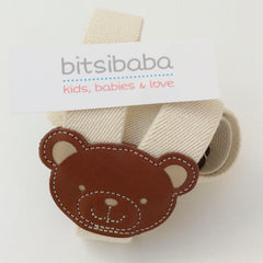 Tirantes regulables con oso crudo y marron / Vaello · bitsibaba.com