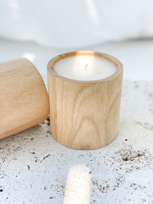 W I L D F I R E | Artisan Soy Candle | Wooden Tumbler