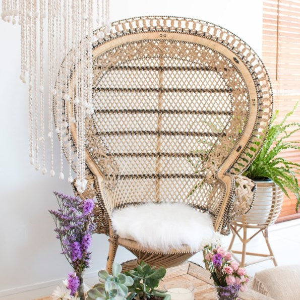Miss Marrakech Peacock Chair | Pre-Order March