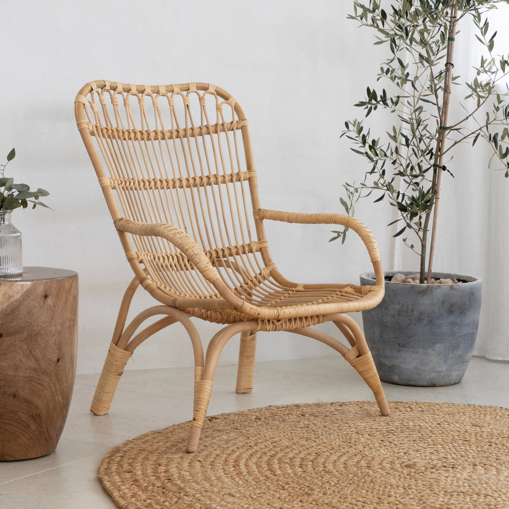 Rattan Relaxer Chair