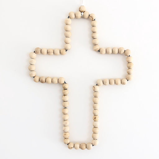 Timber Beaded Cross | Returning Soon