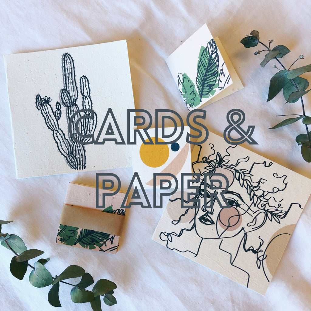 Little Bowerbird Interiors cards and paper