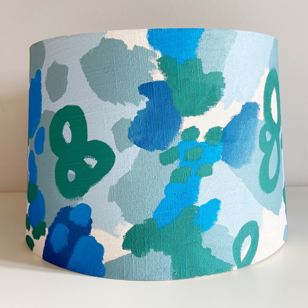 Little Bowerbird Art Lamp Shade