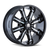 MAYHEM 8102-2978M18 BEAST (8102) BLACK/MILLED SPOKES 20X9 8-180 18MM 124.1MM