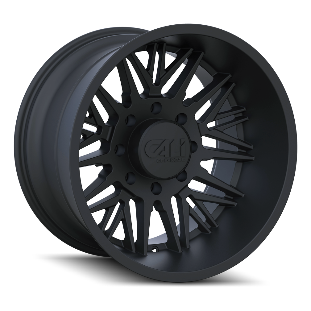 CALI OFF-ROAD 9109-24283MB RAWKON (9109) MATTE BLACK 24X12 6x5.5 -51MM 106MM