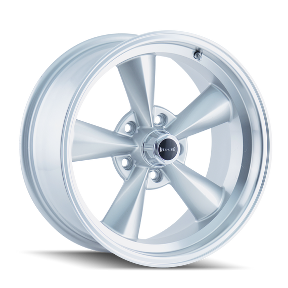 RIDLER 675-7865S 675 (675) SILVER/MACHINED LIP 17X8 5-114.3 0MM 83.82MM