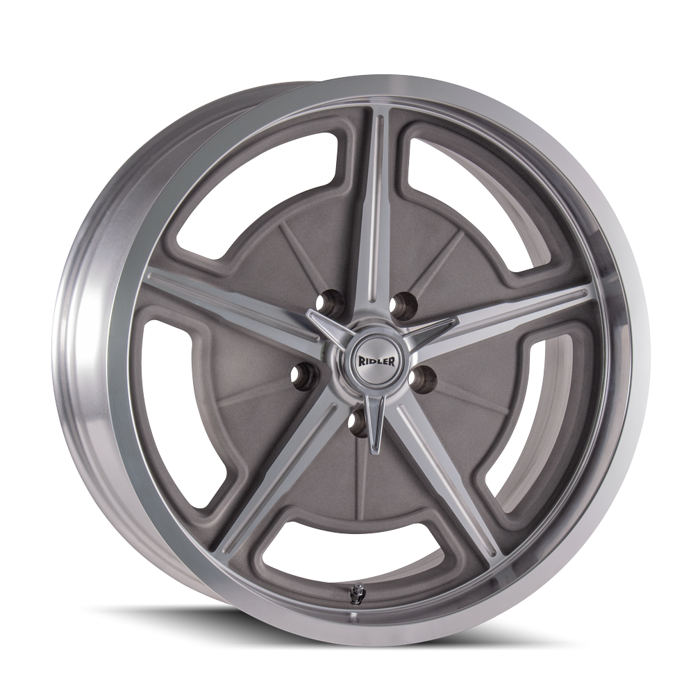 RIDLER 605-2165GM 605 (605) MACHINED SPOKES & LIP 20X10 5-114.3 0MM 83.82MM