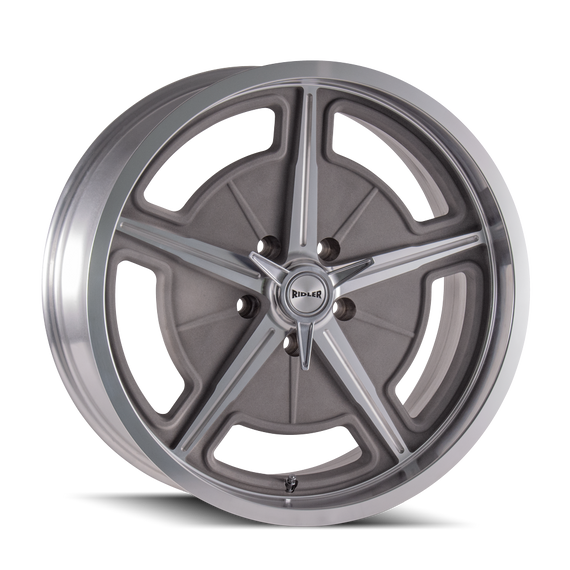 RIDLER 605-7773GM 605 (605) MACHINED SPOKES & LIP 17X7 5-127 0MM 83.82MM
