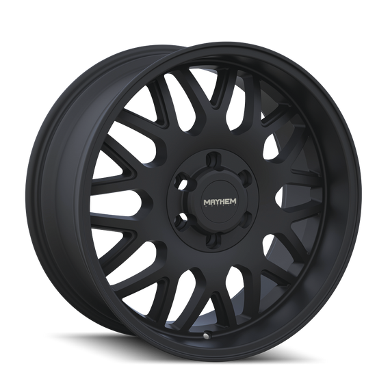 MAYHEM 8110-2183MB TRIPWIRE (8110) MATTE BLACK 20X10 6-139.7 -19mm 106mm