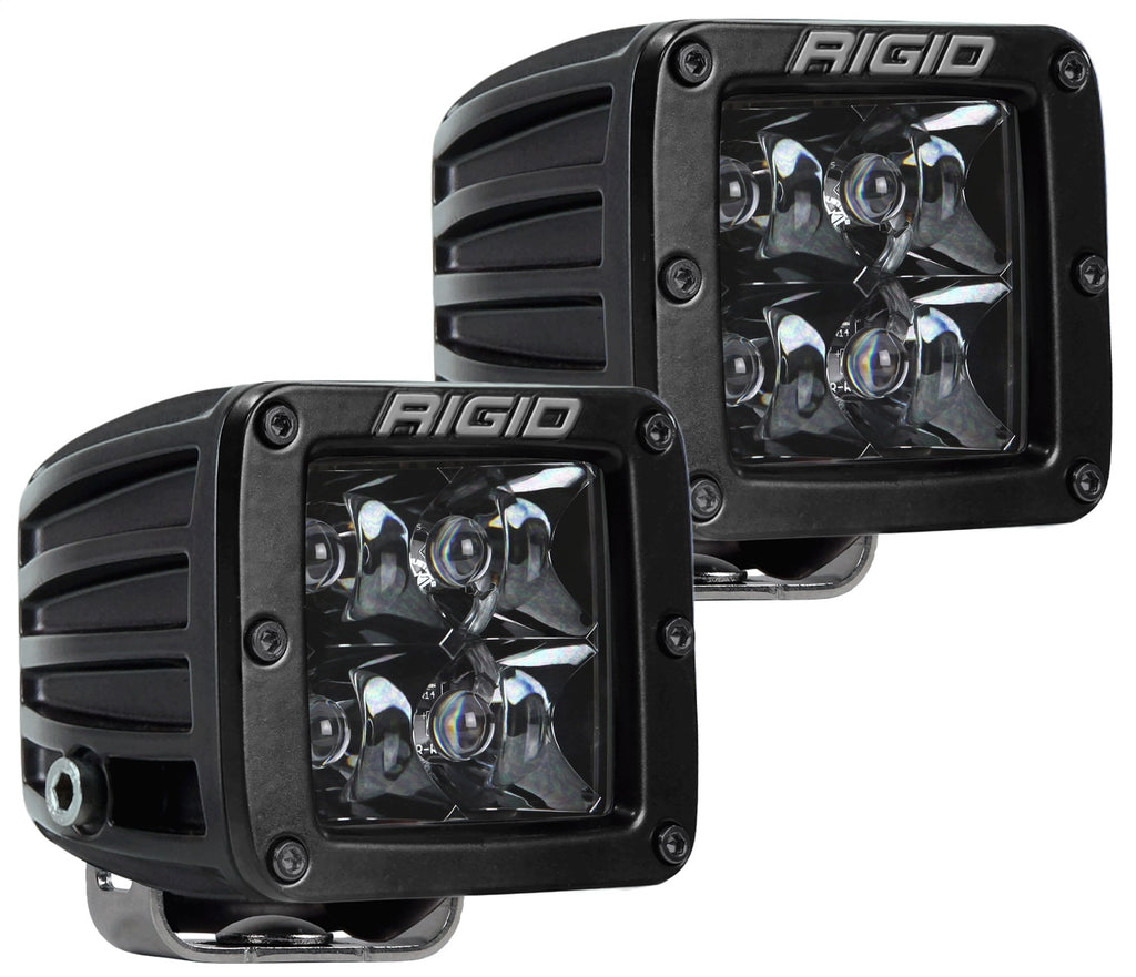 Rigid Industries 202213BLK D-SERIES PRO SPOT MIDNIGHT; PAIR