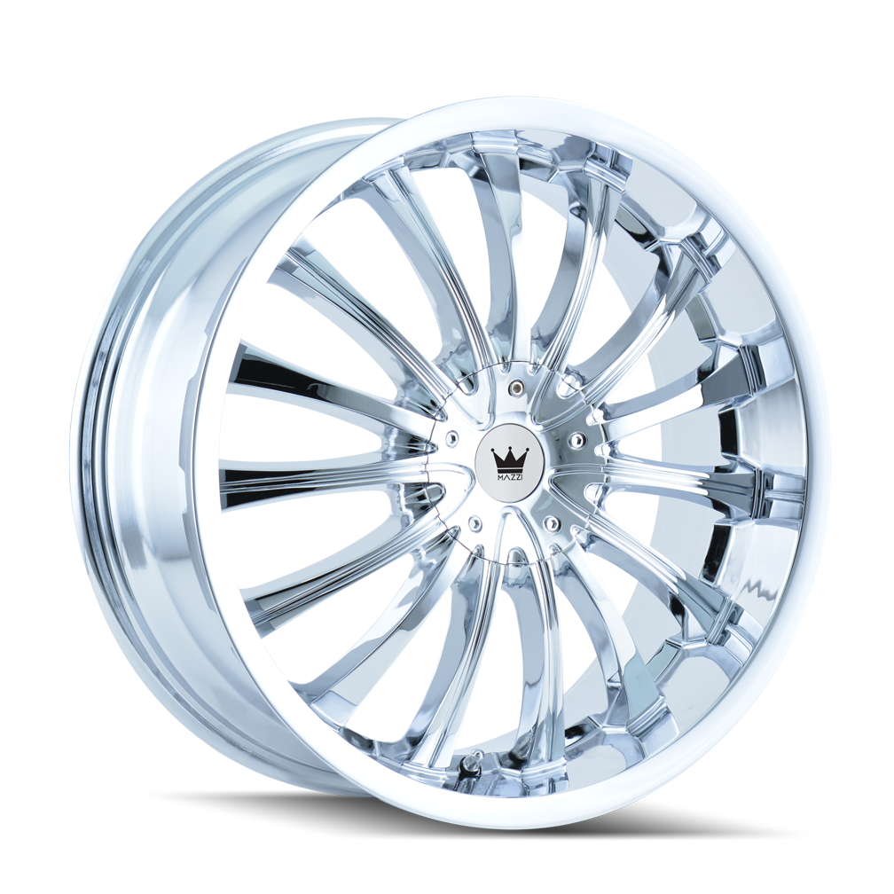 MAZZI 351-2809C MAZZI 351 CHROME 20X8.5 5-112/5-120 40MM 72.62MM