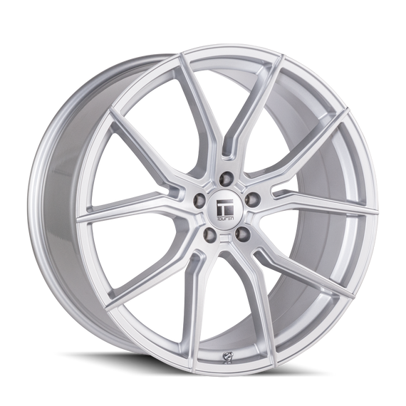 TOUREN 3501-2112SB40 TF01 (3501) BRUSHED SILVER 20X10 5-120 40MM 72.56MM