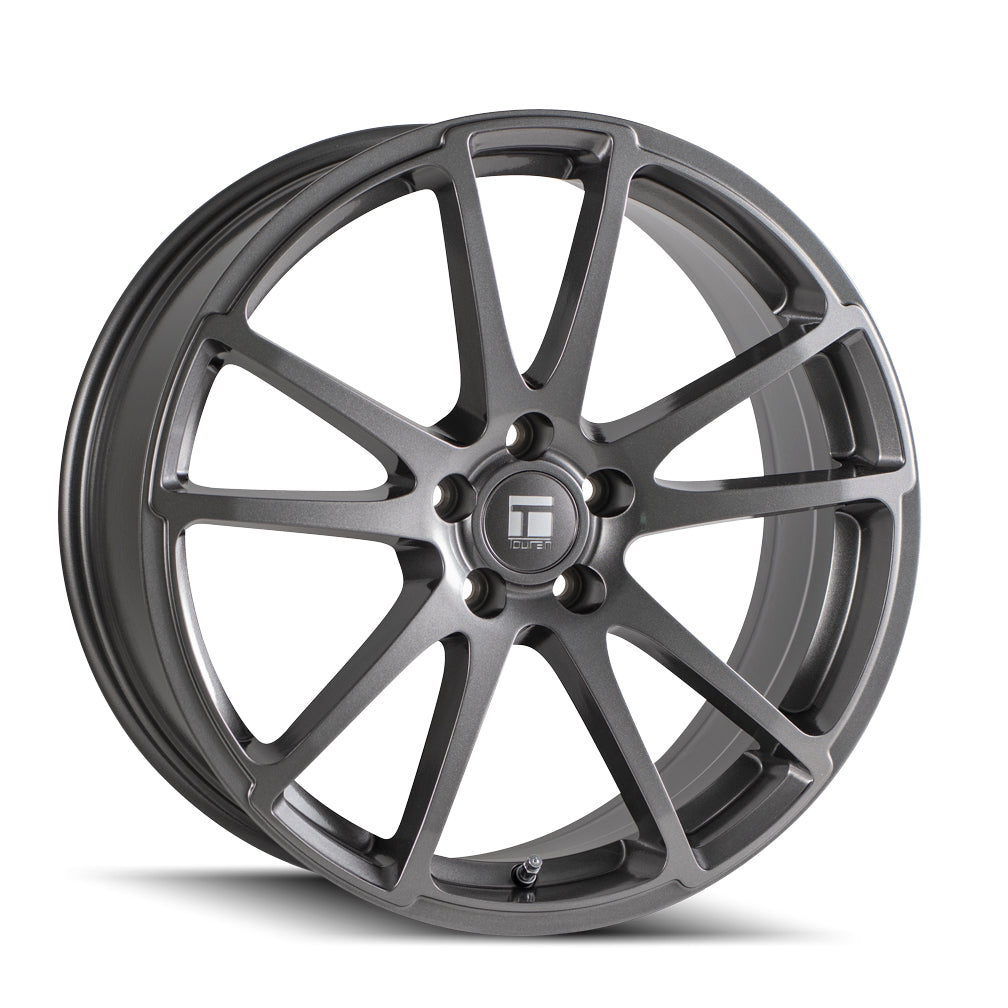 TOUREN 3503-8812MB40 TF03 (3503) MATTE BLACK 18X8 5-120 40MM 72.56MM