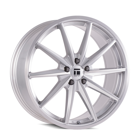 TOUREN 3502-2912SB35 TF02 (3502) BRUSHED SILVER  20X9 5-120 35MM 72.56MM