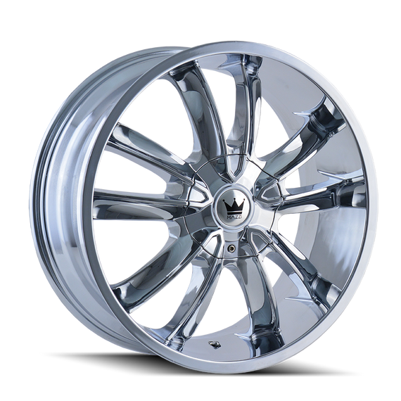 MAZZI 366-22918C OBSESSION (366) CHROME 22X9.5 5-115/5-120 18MM 74.1MM
