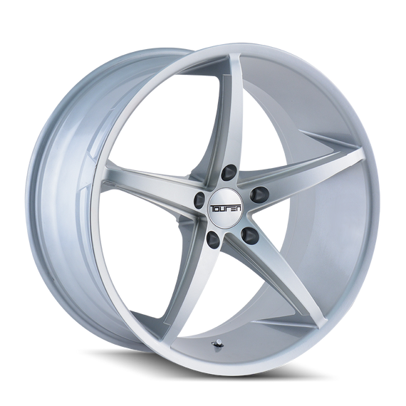TOUREN 3270-2145S40 TR70 (3270) SILVER/MILLED SPOKES 20X10 5-112 40MM 66.56MM