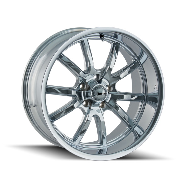 RIDLER 650-5873C 650 (650) CHROME 15X8 5-127 0MM 83.82MM