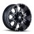 MAYHEM 8103-7937M FIERCE (8103) GLOSS BLACK/MILLED SPOKES 17X9 6-135/6-139.7 -12MM 108MM