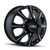 CALI OFF-ROAD 9105-2881BF116 BRUTAL (9105) FRONT BLACK/MILLED SPOKES 20X8.25 8-165.1 127MM 116.7MM
