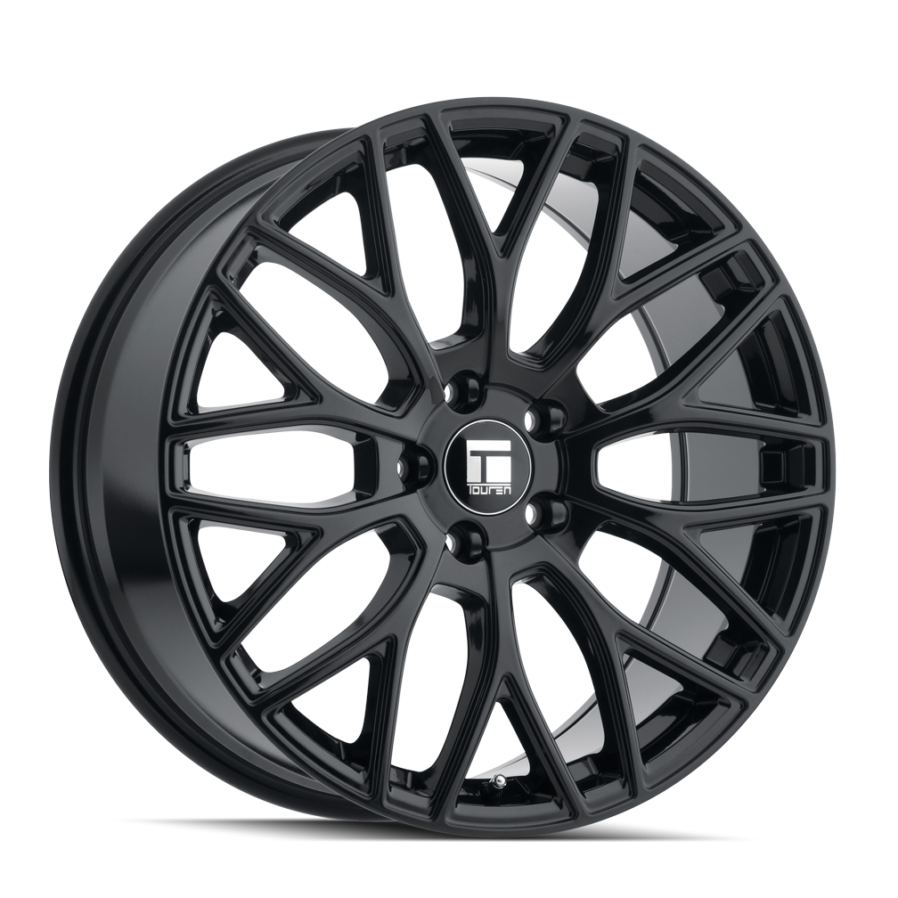 TOUREN 3276-7865GB35 3276 (TR76) GLOSS BLACK 17X8 5-114.3 35mm 72.6mm