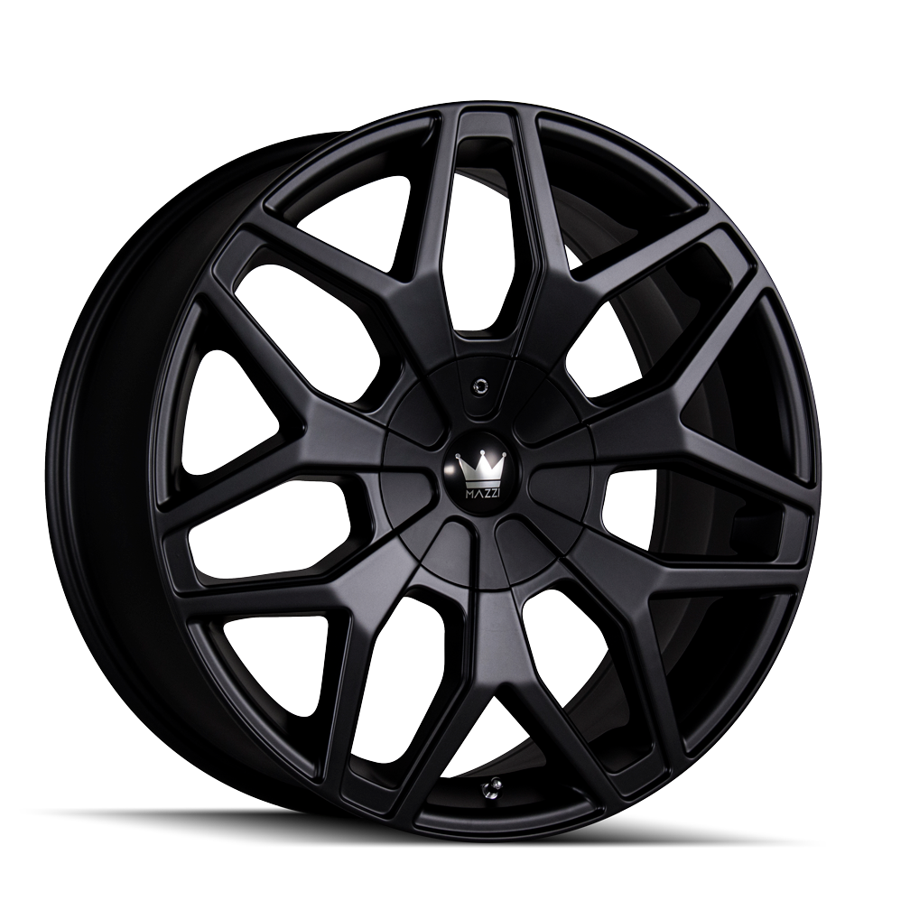 MAZZI 367-2818MB PROFILE (367) MATTE BLACK 20X8.5 5-115/5-120 18MM 74.1MM