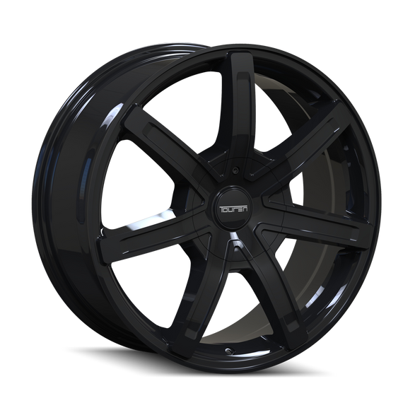 TOUREN 3265-2814B TR65 (3265) BLACK 20X8.5 5-108/5-114.3 35MM 72.62MM
