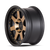 MAYHEM 8300-8978TZ PRODIGY (8300) MATTE BLACK W/BRONZE TINT 18X9 8-180 0MM 124.1MM