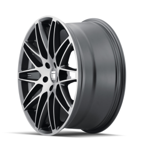TOUREN 3275-9945TM38 TR75 (3275) BRUSHED MATTE BLACK W/ DARK TINT 19X9.5 5-112 38mm 66.56mm