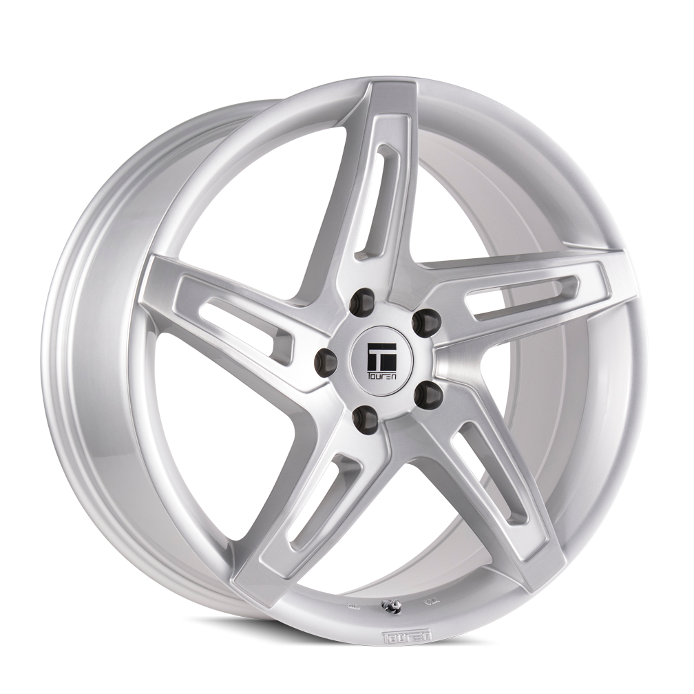 TOUREN 3504-8812SB40 TF04 (3504) BRUSHED SILVER 18X8 5-120 40MM 72.56MM