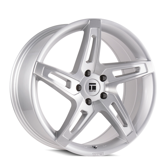 TOUREN 3504-2145SB40 TF04 (3504) BRUSHED SILVER 20X10 5-112 40MM 66.56MM