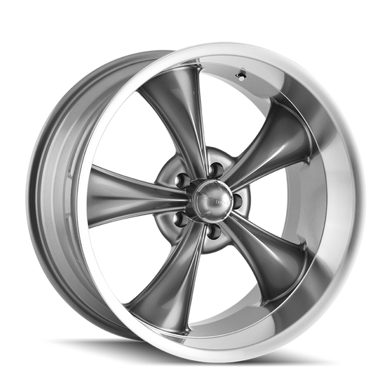 RIDLER 695-2165G 695 (695) GREY/MACHINED LIP 20X10 5-114.3 0MM 83.82MM