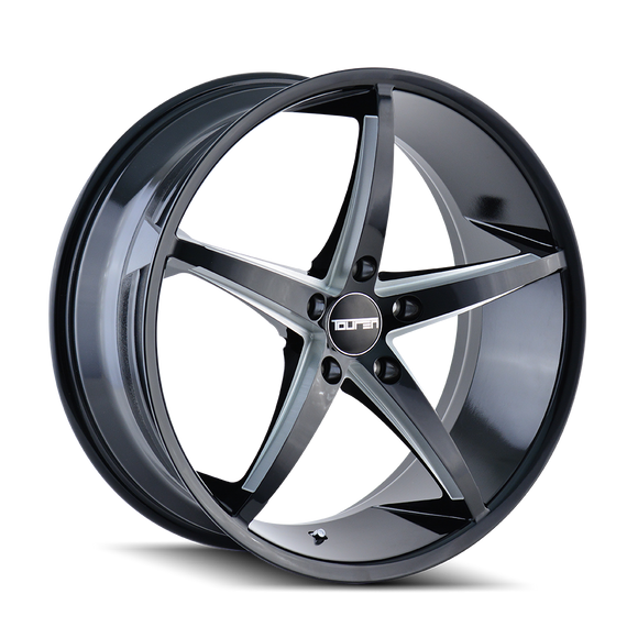 TOUREN 3270-8845B35 TR70 (3270) BLACK/MILLED SPOKES 18X8 5-112 35MM 66.56MM
