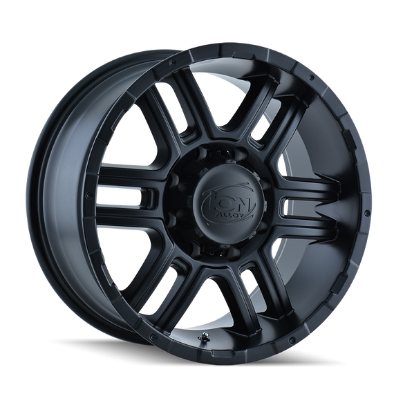 ION 179-8936MB 179 (179) MATTE BLACK 18X9 6-135 30MM 87MM