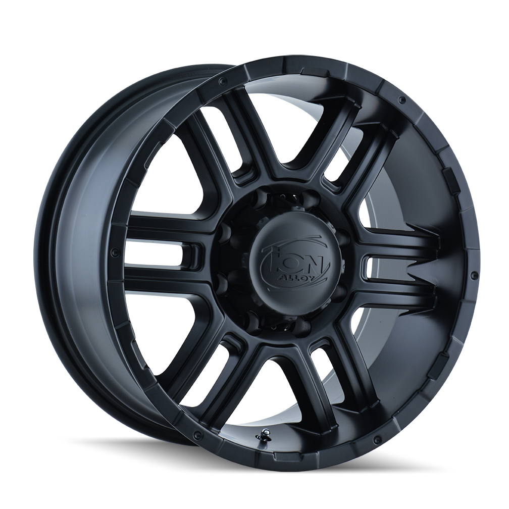 ION 179-6873MB 179 (179) MATTE BLACK 16X8 5-127 10MM 83.82MM