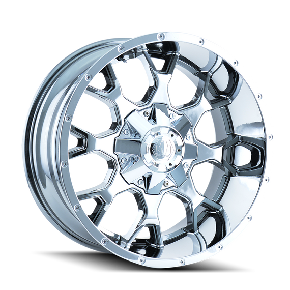 MAYHEM 8015-2152C WARRIOR (8015) CHROME 20X10 5-127/5-139.7 -25MM 87MM
