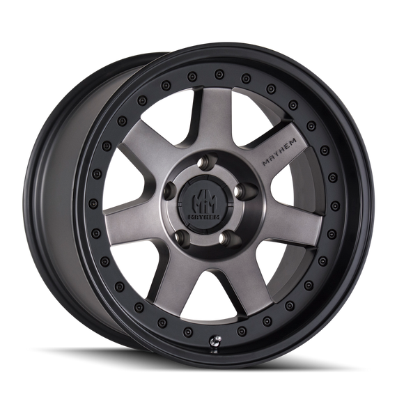 MAYHEM 8300-2950TM PRODIGY (8300) MATTE BLACK W/DARK TINT 20X9 5x150 0MM 110MM
