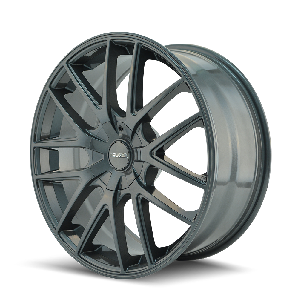 TOUREN 3260-6720G TR60 (3260) GUNMETAL 16X7 4-108/5-108 42MM 72.62MM