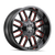 MAYHEM 8107-22176BTR COGENT (8107) BLACK W/PRISM RED 22X10 8-165.1/8-170 -19mm 130.8mm