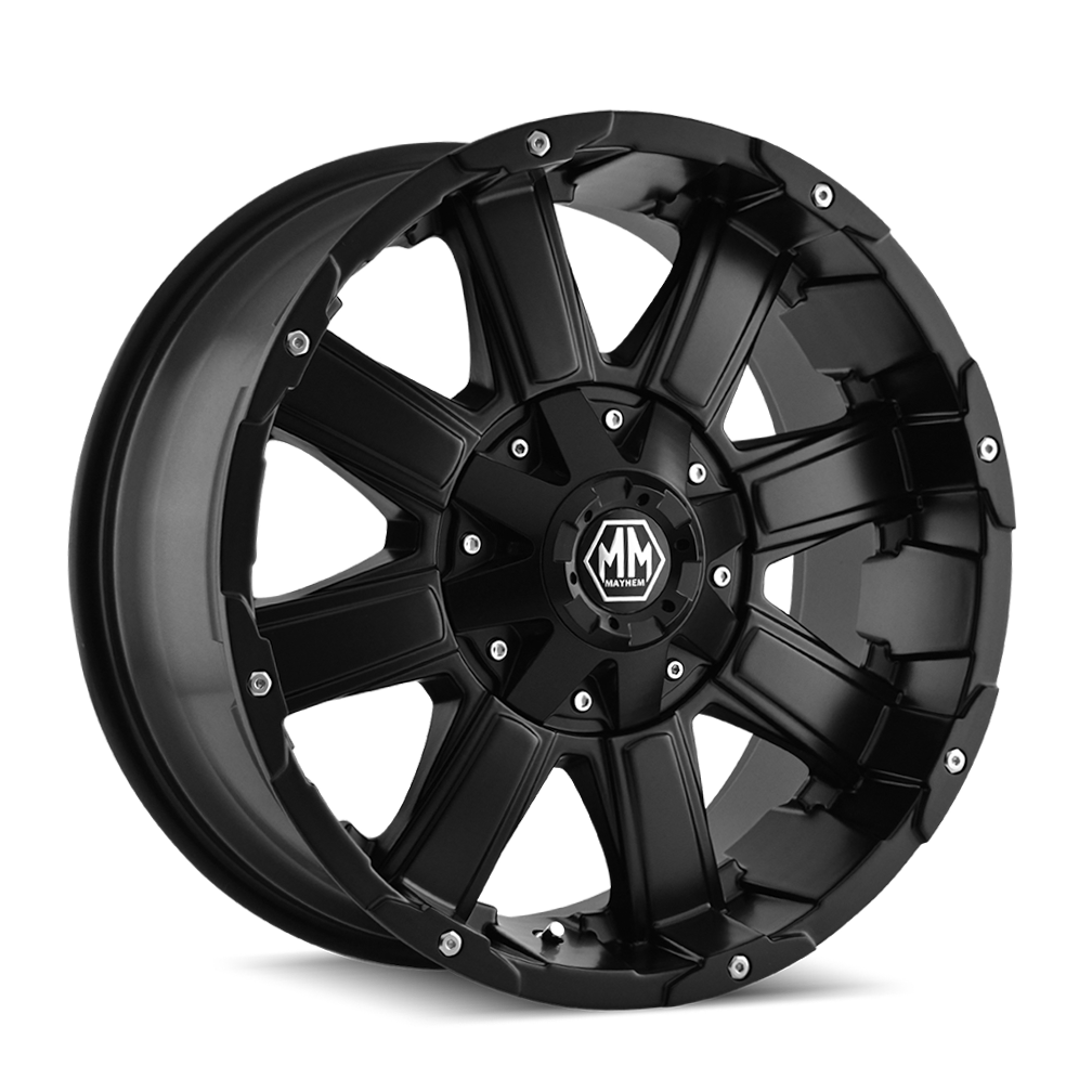 MAYHEM 8030-8952MB CHAOS (8030) MATTE BLACK 18X9 5-127/5-139.7 -12MM 87MM