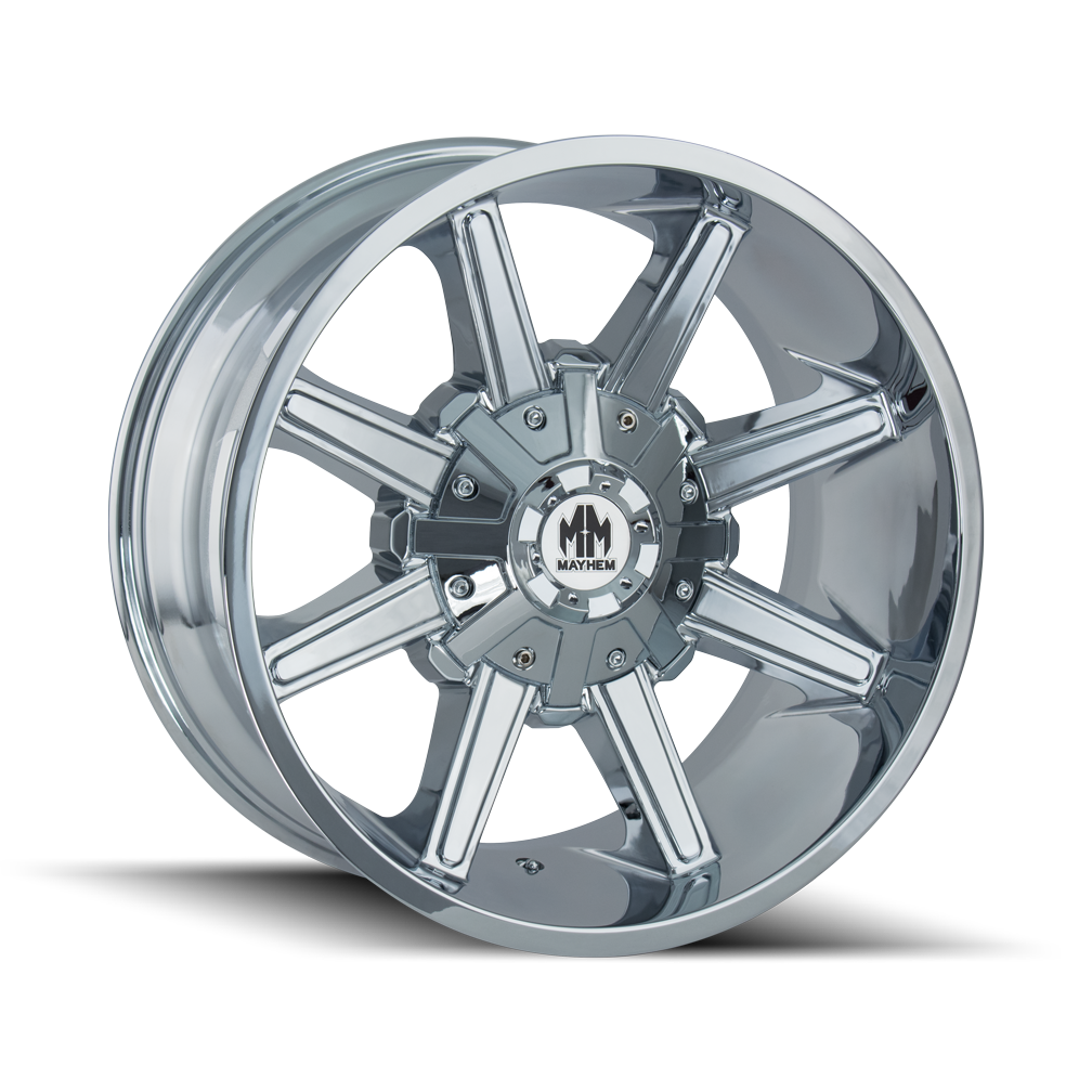 MAYHEM 8104-7956C18 ARSENAL (8104) CHROME 17X9 5-114.3/5-127 18MM 87MM