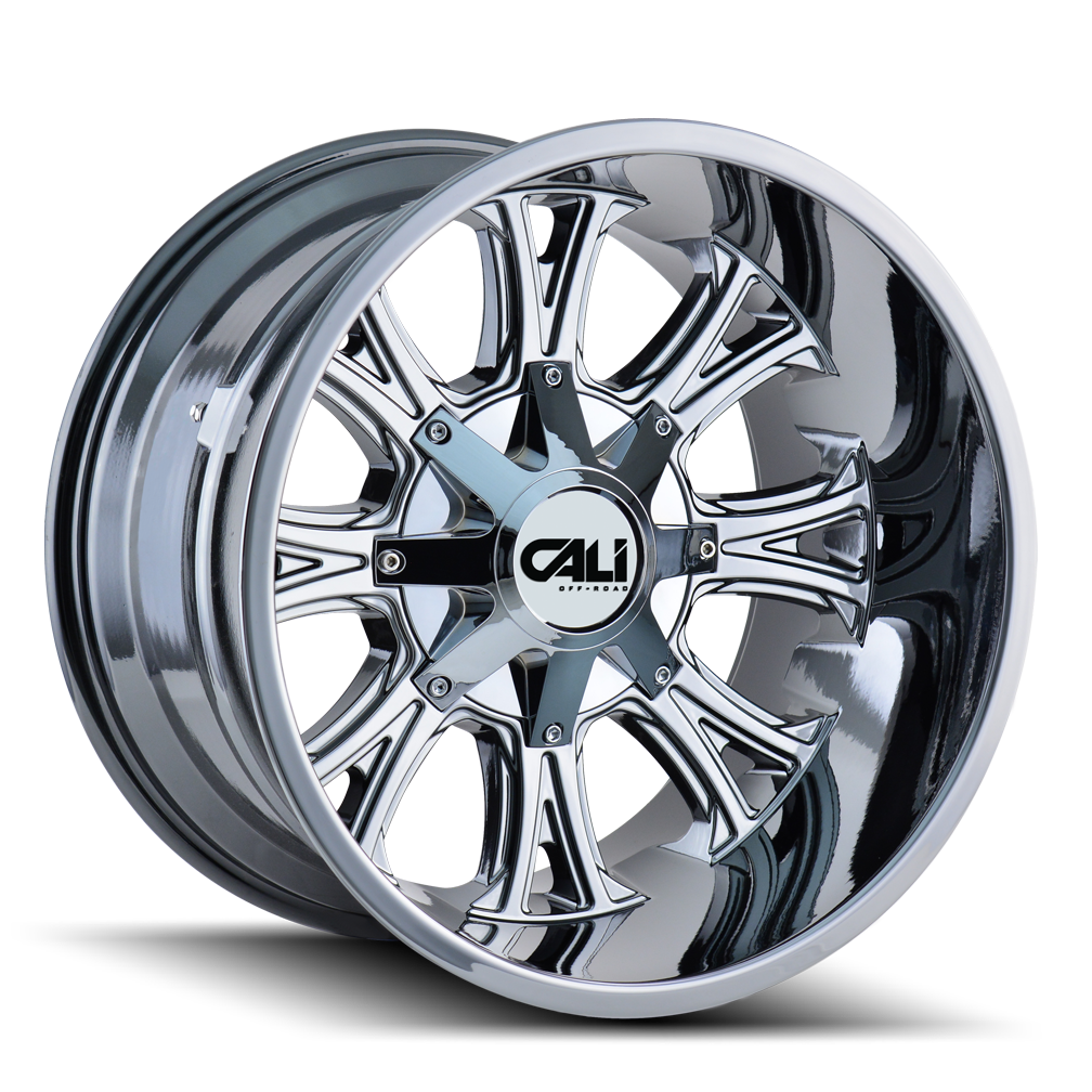 CALI OFF-ROAD 9101-2152C AMERICANA (9101) CHROME 20X10 5-127/5-139.7 -25MM 87MM