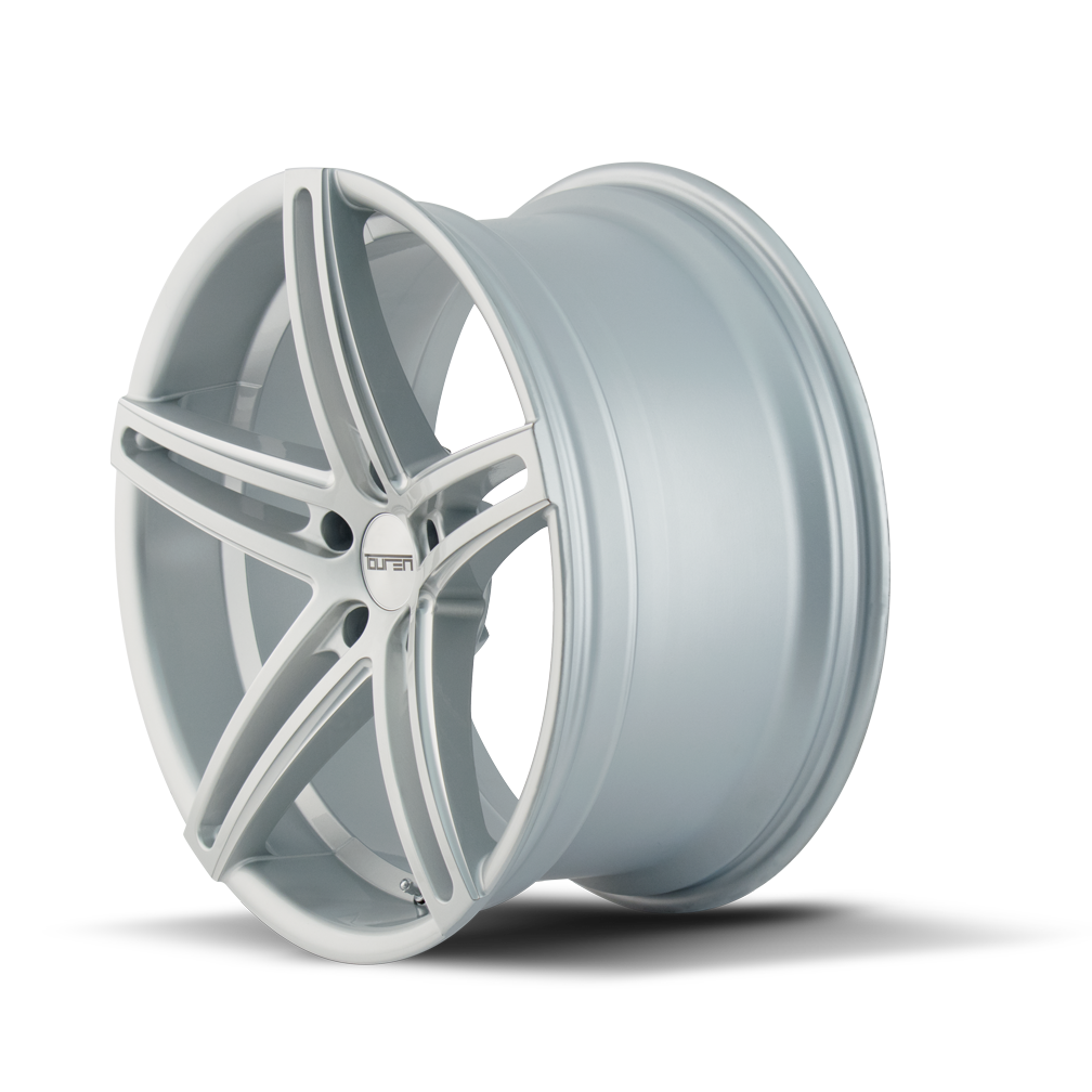 TOUREN 3273-8845S35 TR73 (3273) GLOSS SILVER/MILLED SPOKES 18X8 5-112 35MM 66.56MM