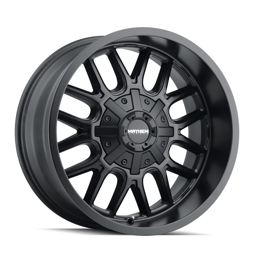 MAYHEM 8107-2137MB COGENT (8107) MATTE BLACK 20X10 6-135/6-139.7 -19mm 106mm