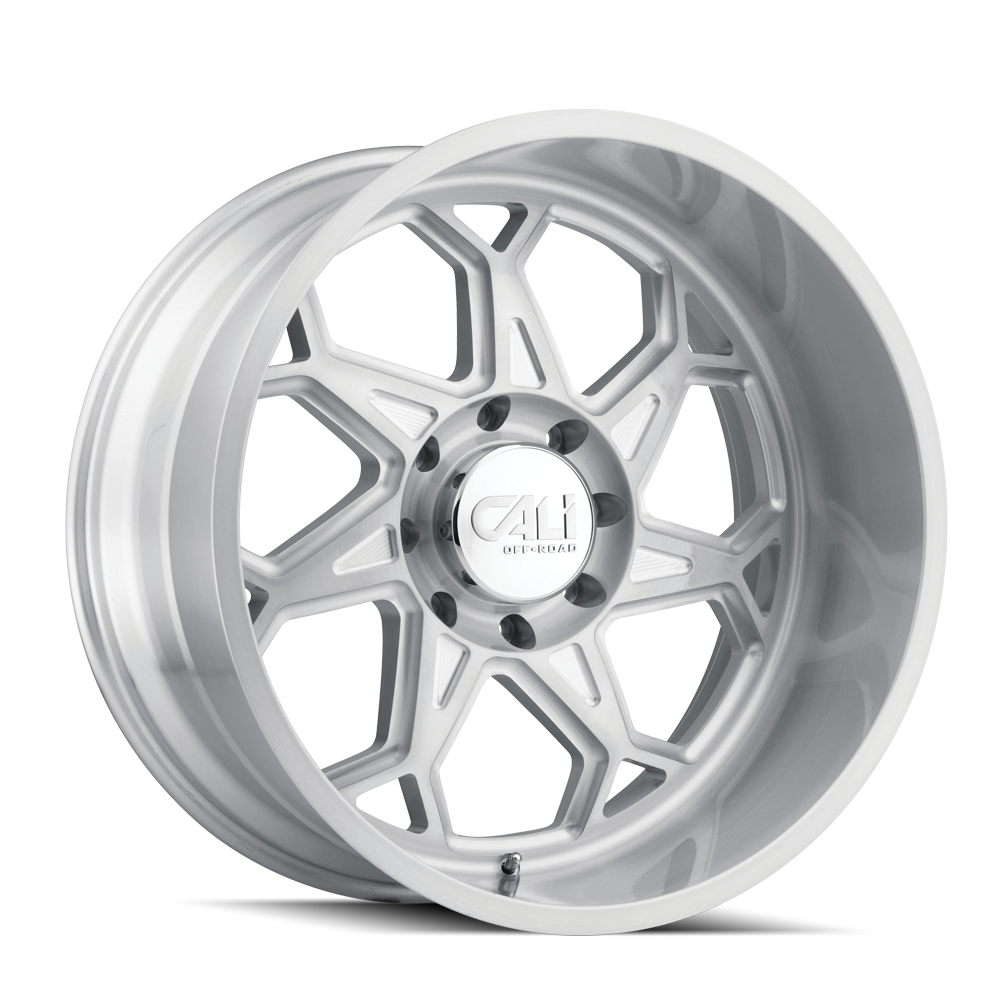 CALI OFF-ROAD 9111-2981BGC SEVENFOLD (9111) BRUSHED & CLEAR COATED 20X9 8-165.1 0mm 130.8mm
