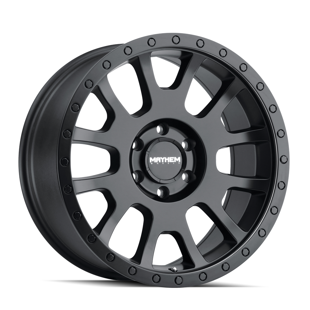 MAYHEM 8302-2981MB SCOUT (8302) MATTE BLACK 20X9 8-165.1 0mm 130.8mm