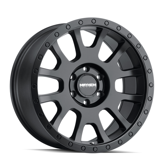 MAYHEM 8302-2973MB SCOUT (8302) MATTE BLACK 20X9 5-127 0mm 78.1mm