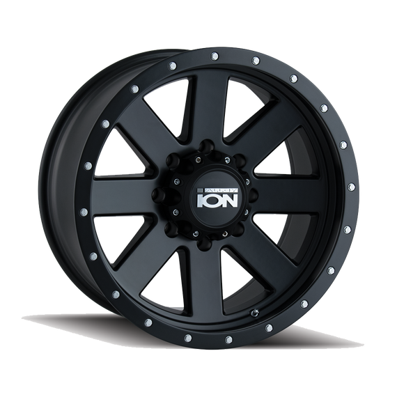 ION 134-2136MB 134 (134) MATTE BLACK/BLACK BEADLOCK 20X10 6-135 -19MM 87MM