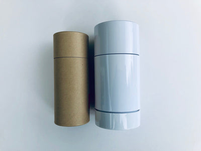 Paper versus plastic containers for cosmetic packaging