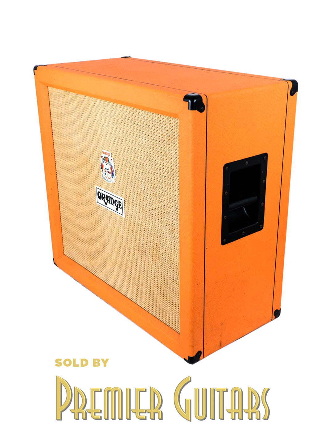SOLD Orange PPC 412 Quad Box Celestion Vintage 30s – UK 2008 by Orange - $895.00