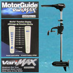 "45 VariMAX  - 12V - 36"" Shaft - MotorGuide"